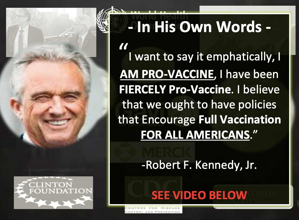 Robert F. Kennedy Is Pro-Vaccine